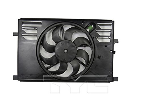 TYC 623740 Replacement Cooling Fan Assembly, 1 (Jeep Fan)