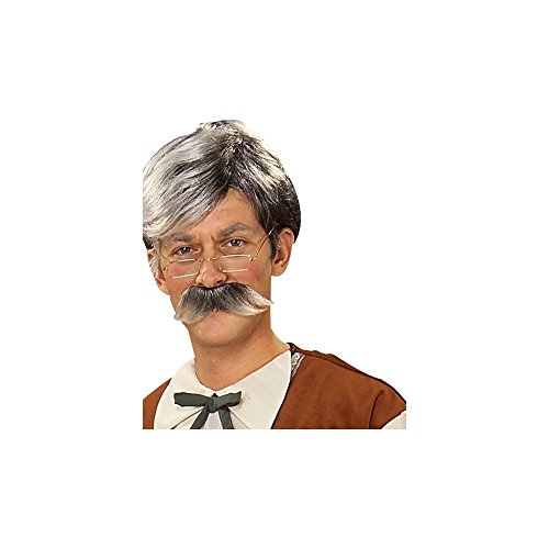 (Geppetto Wig and Moustache -)