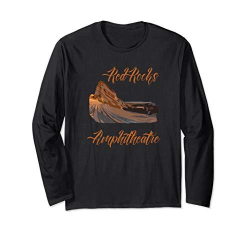Red Rocks Amphitheatre Amphitheater Long Sleeve Shirt ()
