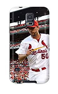 Flexible Tpu Back Case Cover For Galaxy S5 - St_ Louis Cardinals