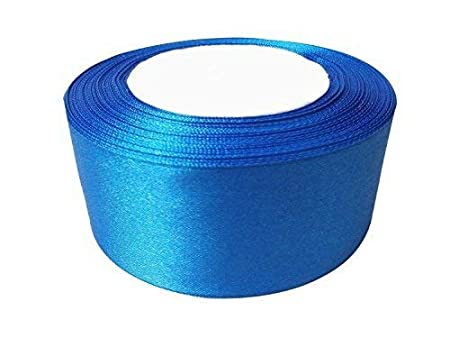 25m x 25mm Double Sided Satin Ribbons Full Roll Trim Arts /& Craft Decoration UK
