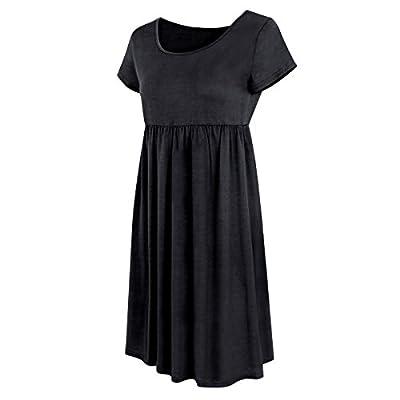Vestidos Sueltos Cortos Mini Vestido De Verano Casuales