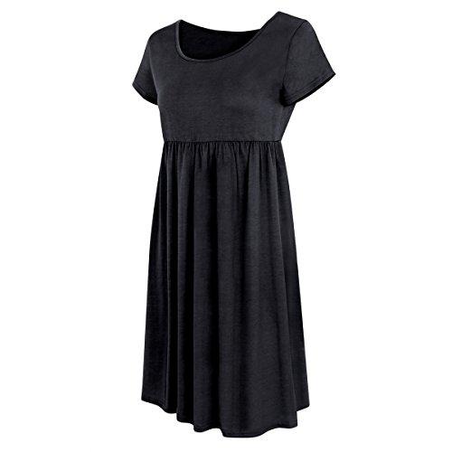 30off Vestidos Sueltos Cortos Mini Vestido De Verano