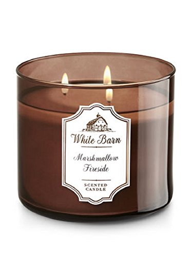 Vanilla Toasted Scented Candle (Bath & Body Works Scented Candle in Marshmallow Fireside)