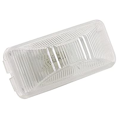 Kaper II L10-0020 White License Plate Light: Automotive