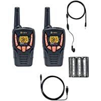 Cobra ACXT345 23-Mile Weather Resistant Two-Way Radio with Earbuds
