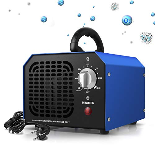 🥇 Generador de Ozono 6000 mg/h  Purificador Ozono de Aire Profesional con Temporizador Adecuado para Hogares
