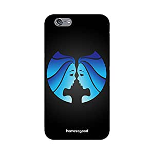 HomeSoGood Gemini Zodiac Sign Black 3D Mobile Case For iPhone 6 (Back Cover)