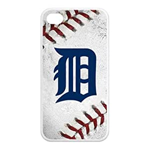 MLB Detroit Tigers Always Tigers Baseball IPHONE 4/4S Best Rubber+PVC Cover Case By Every New Day