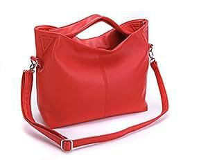 sfpong - Bolso de tela para mujer, rojo (Rojo) - G72143B