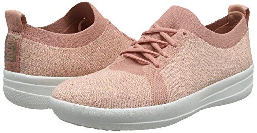 Sneakers Uberknit metallic 612 Donna Metallic sporty F dusky Pink Fitflop Sneaker UgFn4OqW