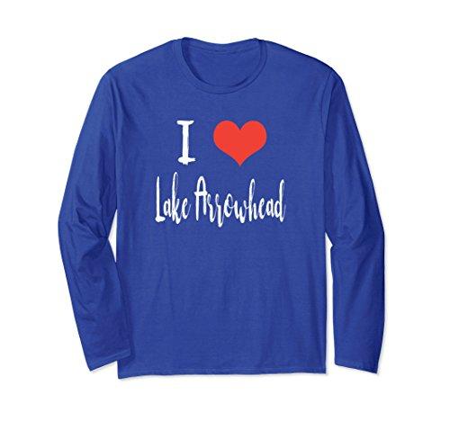 Laguna Long Sleeve (Unisex I Love Laguna Woods Long Sleeve T Shirt Large Royal Blue)