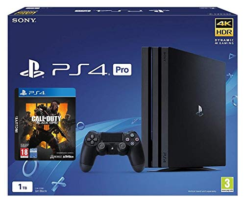PlayStation 4 (PS4) - Consola Pro de 1 TB + COD Black Ops IIII ...