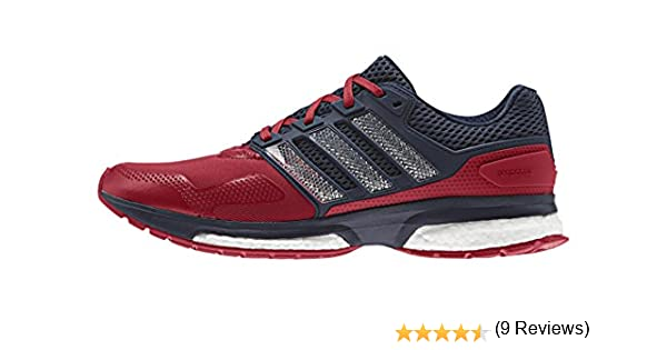adidas Response 2 Techfit M, Zapatillas de Running para Hombre, Rojo/Azul Marino (Rojpot/Rojpot/Maruni), 36 EU: Amazon.es: Zapatos y complementos