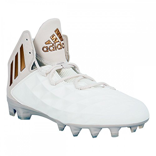 Adidas Freak Lax Mid Cleat Unisex Lacrosse Wit-koper Metallic