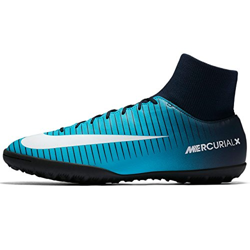 NIKE MercurialX Victory VI DF TF Men's Soccer Turf Shoes (6.5 D(M) US) (Turf Shoes Soccer Men)