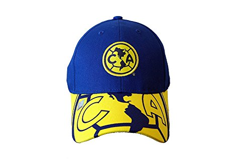 SOCCER MEXICO OFFICIAL AGUILAS AMERICA HAT CAP YELLOW by Club America