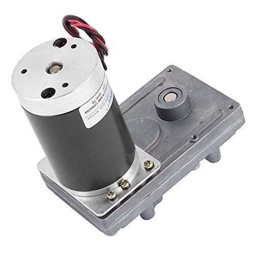 EbuyChX DC12V 70RPM High Torque Brushless DC Worm Gear Box Motor Speed Reducer - - Amazon.com