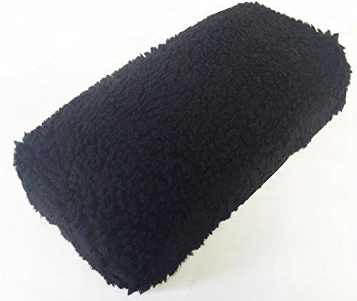 allman-premium-black-fleece-knee-walker-cover-new-1-dense-foam-insert