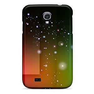 High Quality Shock Absorbing Case For Galaxy S4-abstract Colors
