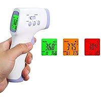 Medidor Digital de Temperatura Infrarrojo sin Contacto Pantalla LCD Medición en °C y °F Para Prevención y/o Control de…