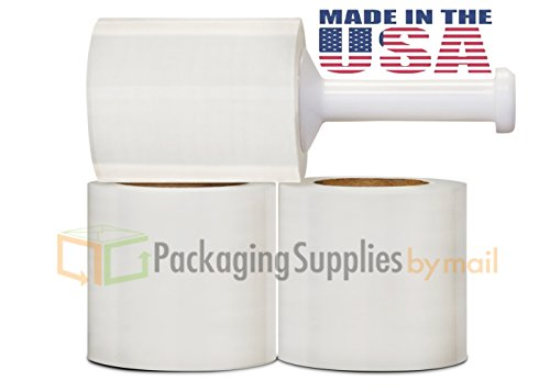 Stretch Film Tape ((12) ROLLS HAND STRETCH SHRINK WRAP 5