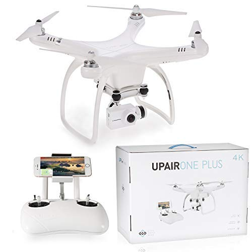 UPair One Plus Quadcopter Drone, Video Drone 4K HD, 5.8G Mobile App...