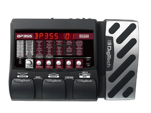 DigiTech BP355 Bass Guitar Multi-Effects Processor, Stomp Mode (Sound Effes)