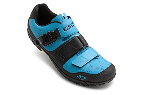 Giro Terraduro Shoe - Men's Blue Jewel/Black 45 by Giro