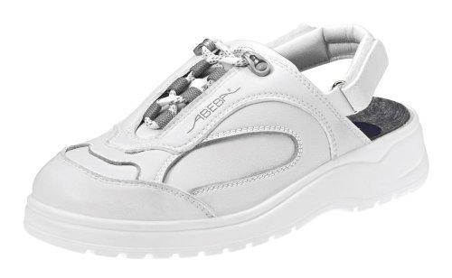 Abeba 1180-41 Light Chaussures sabot Taille 41 Blanc