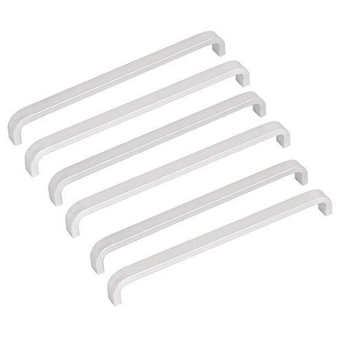 DealMux Drawer Dresser Schrank Hardware 165mm Aluminium Pull Griff 6pcs