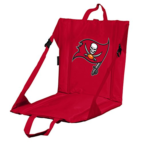 (Logo Brands NFL Tampa Bay Buccaneers Stadium Seat, One Size, Red)