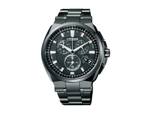 シチズン CITIZEN アテッサ クロノ エコ ドライブ 電波時計 メンズ 腕時計 BY0044-77E 国内正規 B00H1PYAW6