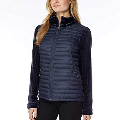 32 DEGREES Mixed Media Plush Jacket at Women's Coats Shop