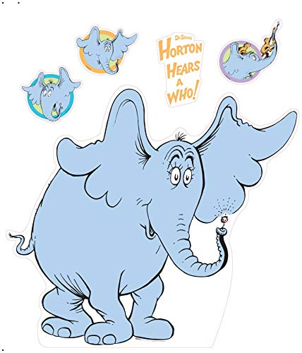 ADVA5700 Dr Seuss Party Room Decorations - Horton Hears a Who Life Size Cardboard Stand In