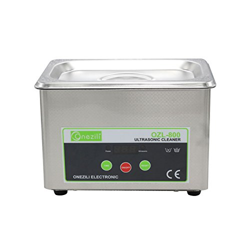 General Purpose Power Supply Cord (ONEZILI 800ML Professional Digital Ultrasonic Cleaner Sonic Wave Smart Ultrasonic Cleaner for Jewelry Glasses Circuit Board Cleaning Machine Intelligent Control)