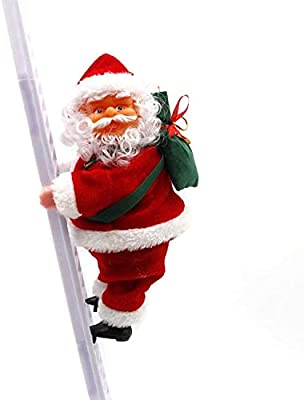 Santa Climbing Ladder Outdoor Decoration  from images-na.ssl-images-amazon.com