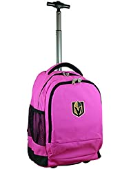Denco NHL Expedition Wheeled Backpack, 19-inches, Pink