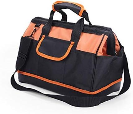 ツールキット ダブルレイヤーオックスフォード布防水ツールバッグ耐久性と耐摩耗ツールバッグ収納整理ツールバッグ ツールの保管と整理バッグ (色 : Yellow, Size : 29x40x23cm)