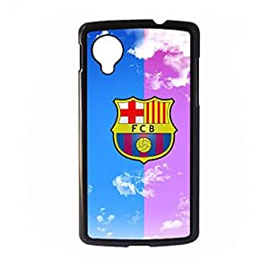 Generic Plastic Phone Case For Women Design With Barcelona For Lg Google Nexus 5 Choose Design 6