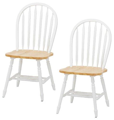 ダイニングテーブル カントリー調 幅113×74 ブラウン/ホワイト 93027 B0781VZWTW ブラウン/ホワイト|テーブル幅113 ブラウン/ホワイト