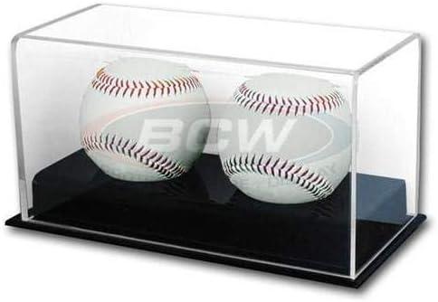 BCW 1-AD12-2 Acrylic Double Baseball Display