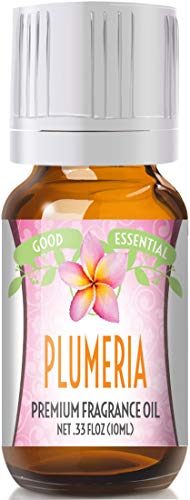 Plumeria Scented Oil by Good Essential (Premium Grade Fragrance Oil) - Perfect for Aromatherapy, Soaps, Candles, Slime, Lotions, and More!