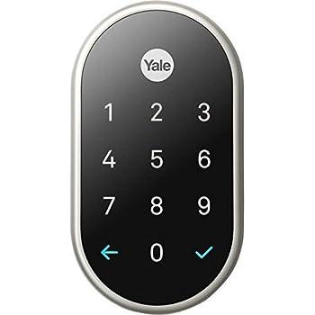 Yale Assure Lock Sl With Z Wave Plus Key Free Door Lock