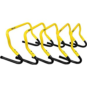 SKLZ Speed Hurdles - 5 Adjustable Height Hurdles with Free SKLZ Carry Bag