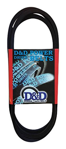 D&D PowerDrive F8819 Case Ih Replacement Belt 216 Length C 1 -Band Rubber