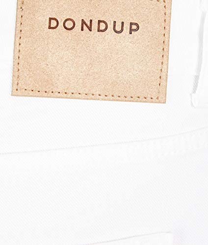 Cotone Dp405bs0009ptd000 Dondup Bianco Donna Jeans OUpwxatn