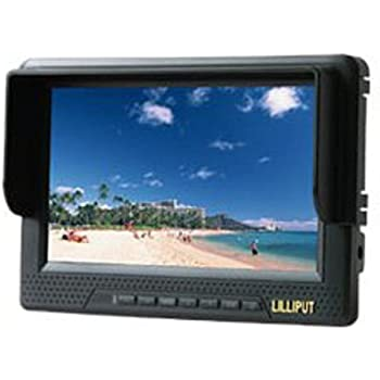 Lilliput 7-inch LCD monitor with HDMI, YPbPr interface, dedicated high-definition video camera