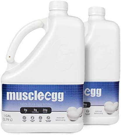 MuscleEgg Original Liquid Egg Whites Protein – 2 Gallons