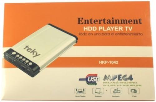 Caja para Disco Duro IDE DE 2,5 Pulgadas TEKY HDD Player TV ...